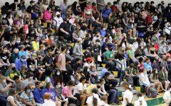 Freshman crowd at Salina South Pep Rally