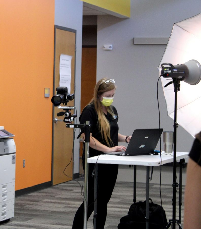 Inter-state Studios took school pictures Aug. 24-25 during English classes. Retakes will be Oct. 19.